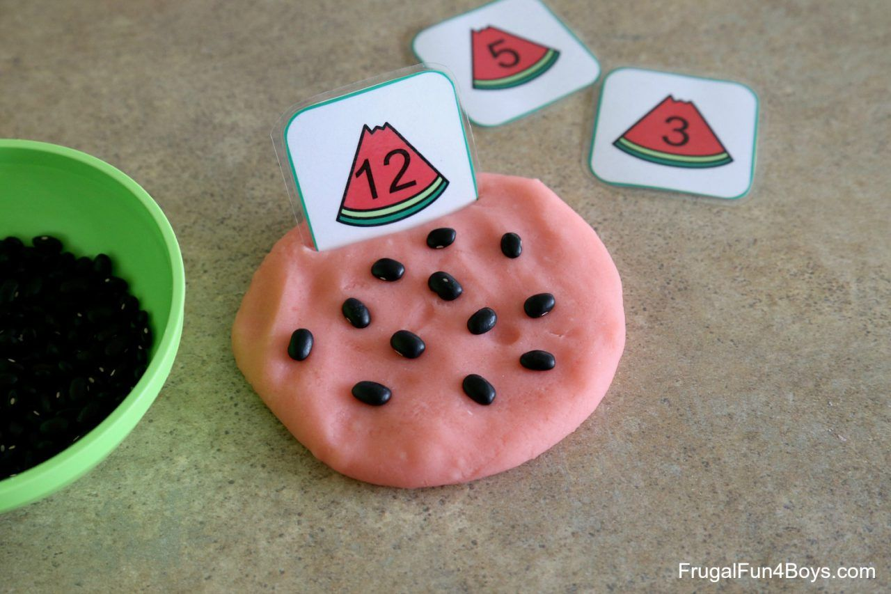 Watermelon Printable Math Activities For Pre K And