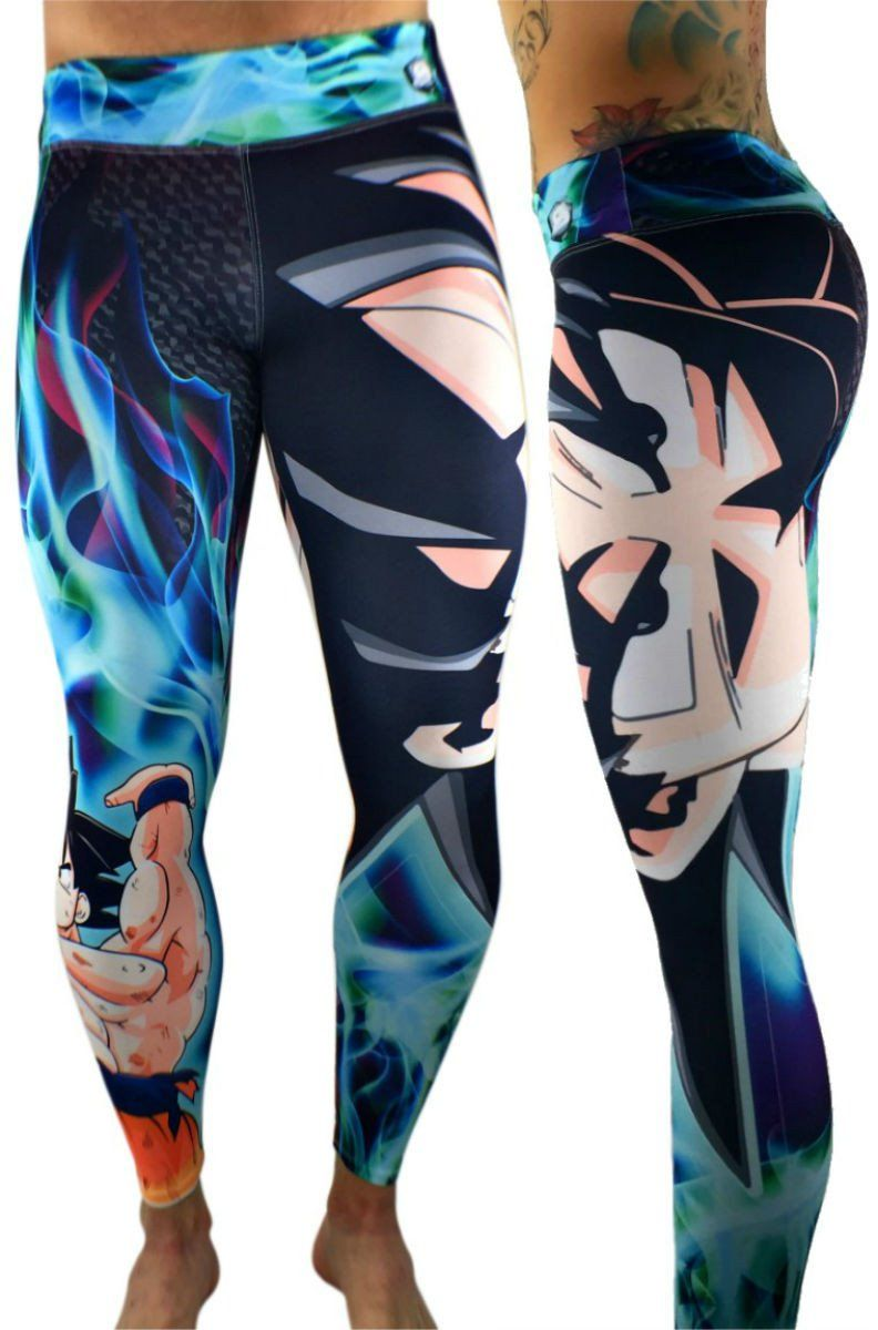 6f98cc0e02 S2 Activewear - UNISEX Dragon Ball Z Goku Leggings - Roni Taylor Fit - 1.  Find this Pin and more on Athletic Clothes ...
