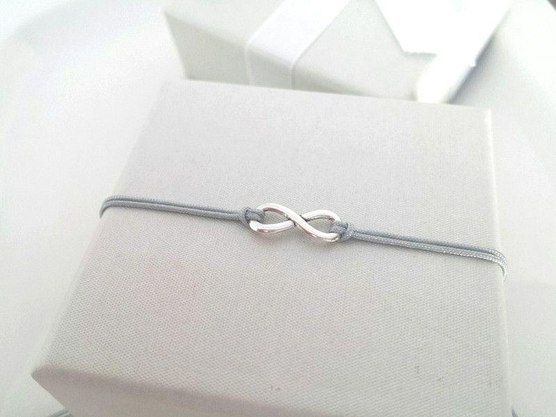 Infinity armband echt silber