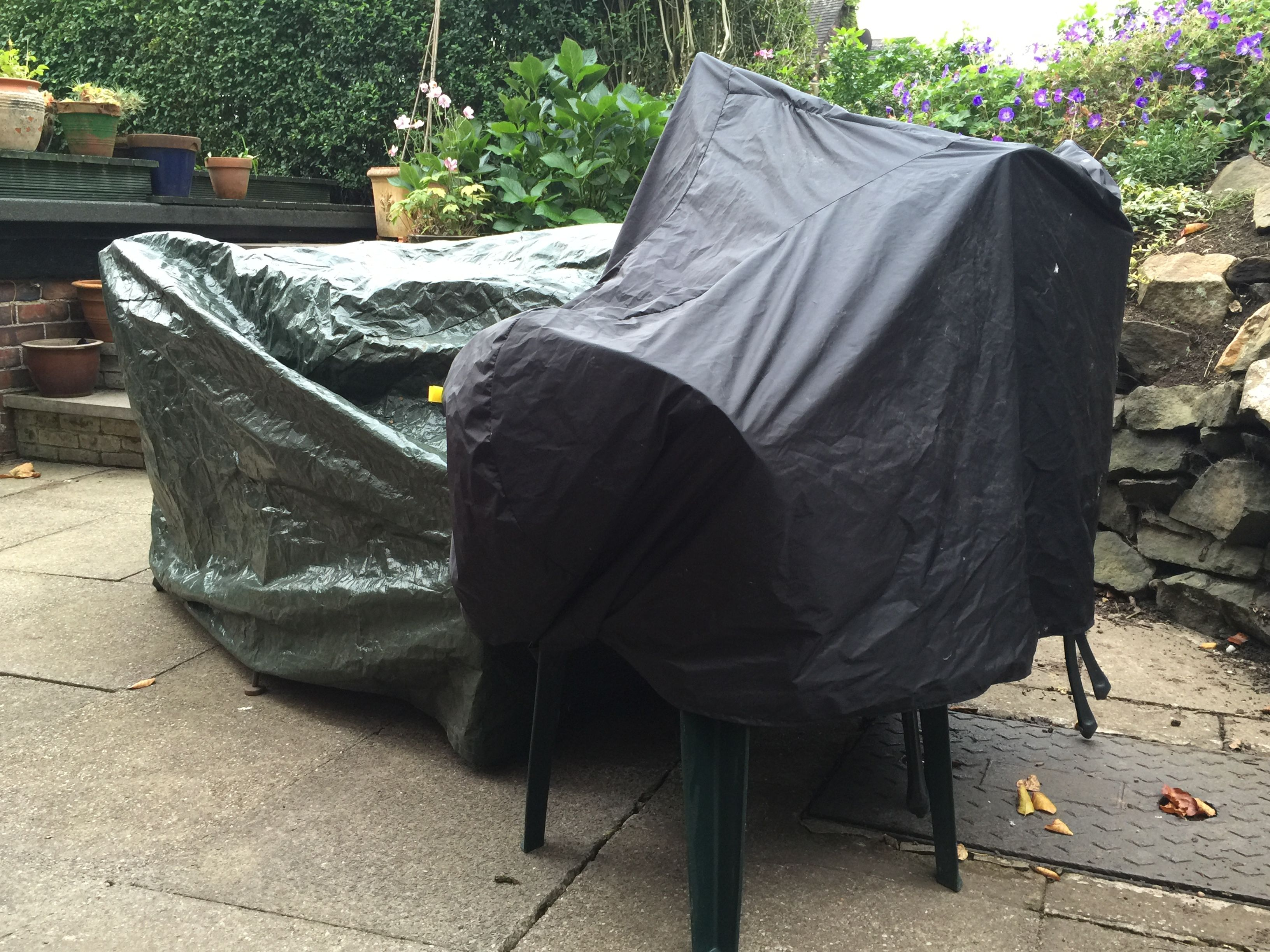 10/10/15. Packed up garden stuff ready for winter- it's that time already. Also looked out photos for special birthday. G round this evening. Started watching Better Call Saul: seems good.