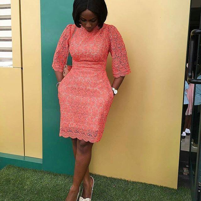 Throwback Eldoti Ankarastyles Lace Gown Styles
