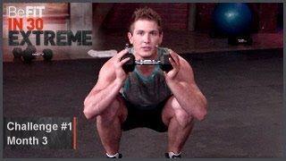Challenge 1: Scott Herman-Level 3 | BeFit in 30 Extreme, via YouTube.