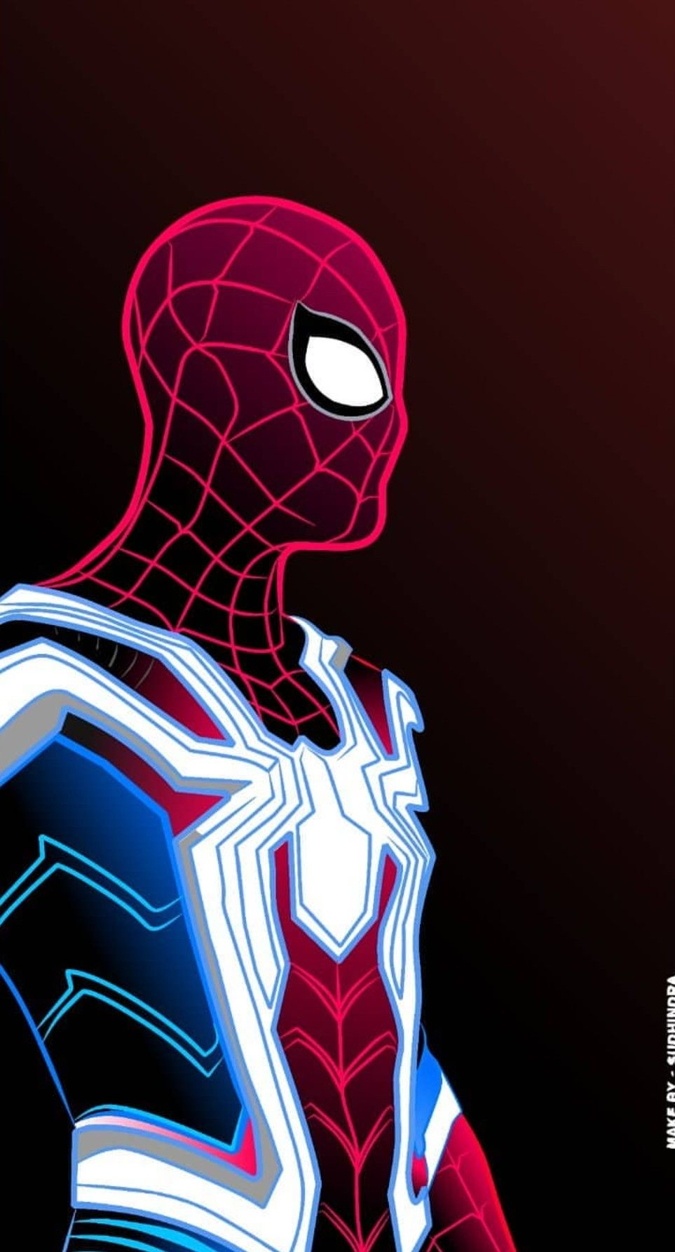 Iron Spider Man Spiderman Marvel Spiderman Marvel Comics