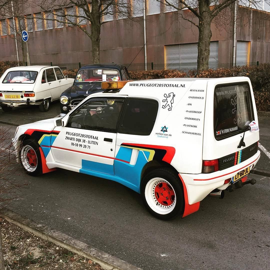 1986 1990 Peugeot 205 Xa Xad Multi By Gruau Durisotti With Dimma Wide Body Kit Source Peugeot Classic Racing Cars Transportation Design