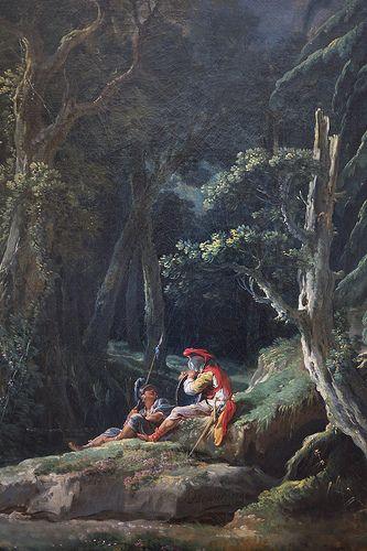 La forêt (detail)
