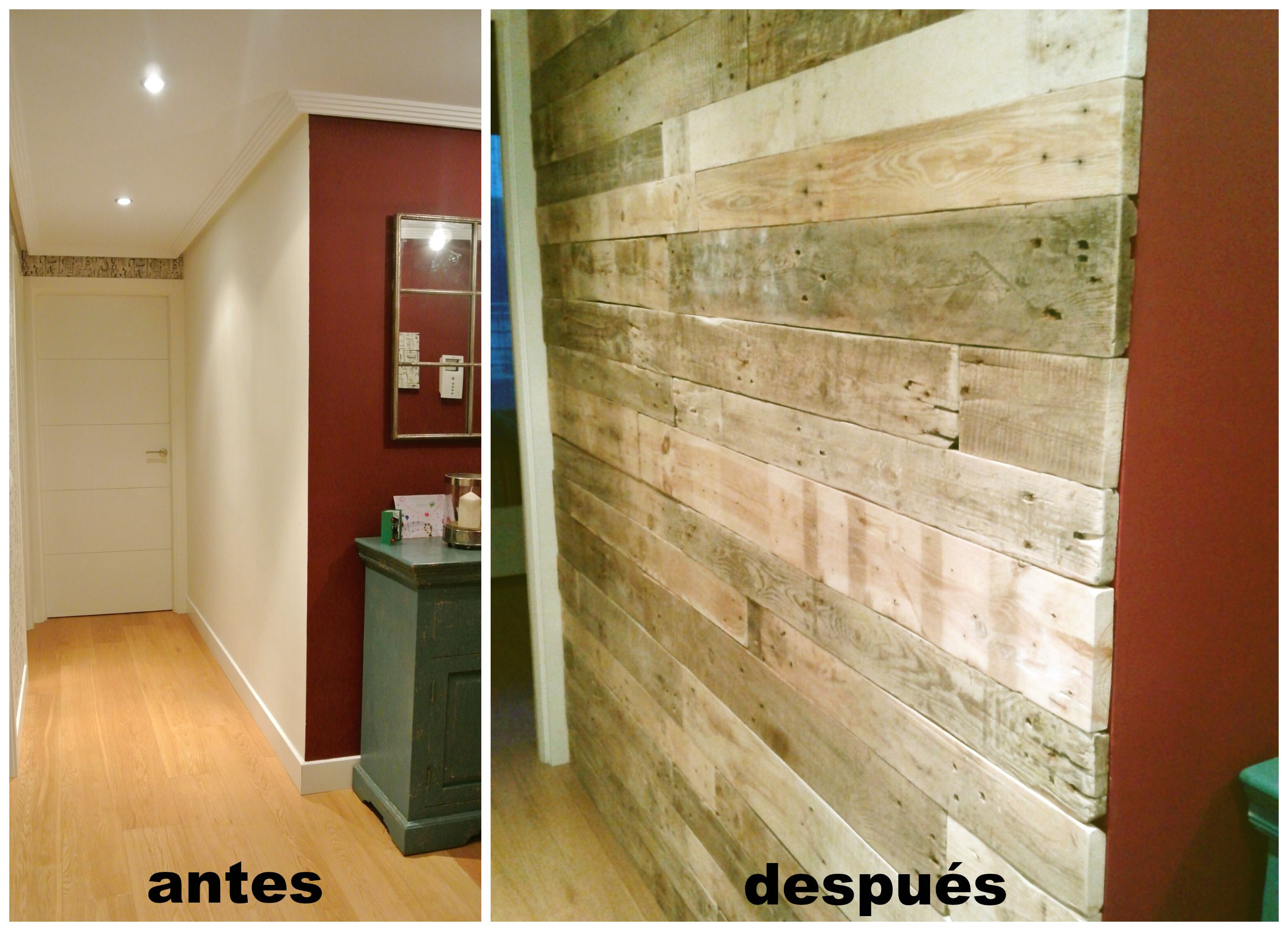 pared palets - Buscar con Google