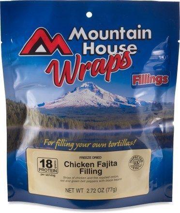 Mountain House Chicken Fajita Wraps With Images Fajitas