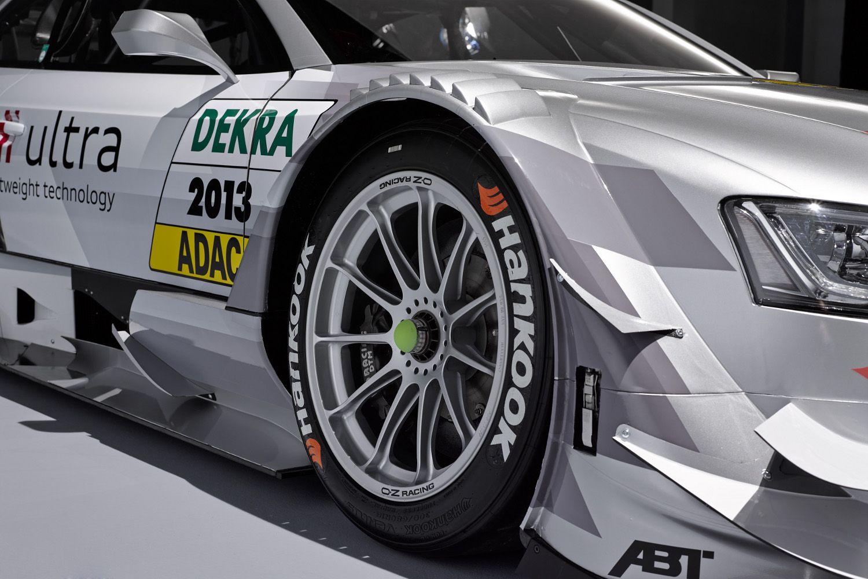 World Premiere Audi RS5 DTM 2013- OZ Racing Wheels on it! #OZRACING