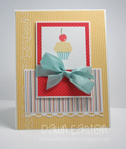 Stampin' Up! A Cherry on Top   I {heart} paper   Cupcake card, Cards, Birthday Cupcakes