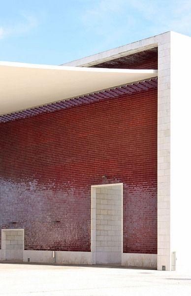 expo pavillon by alvaro siza from 1998 architecture