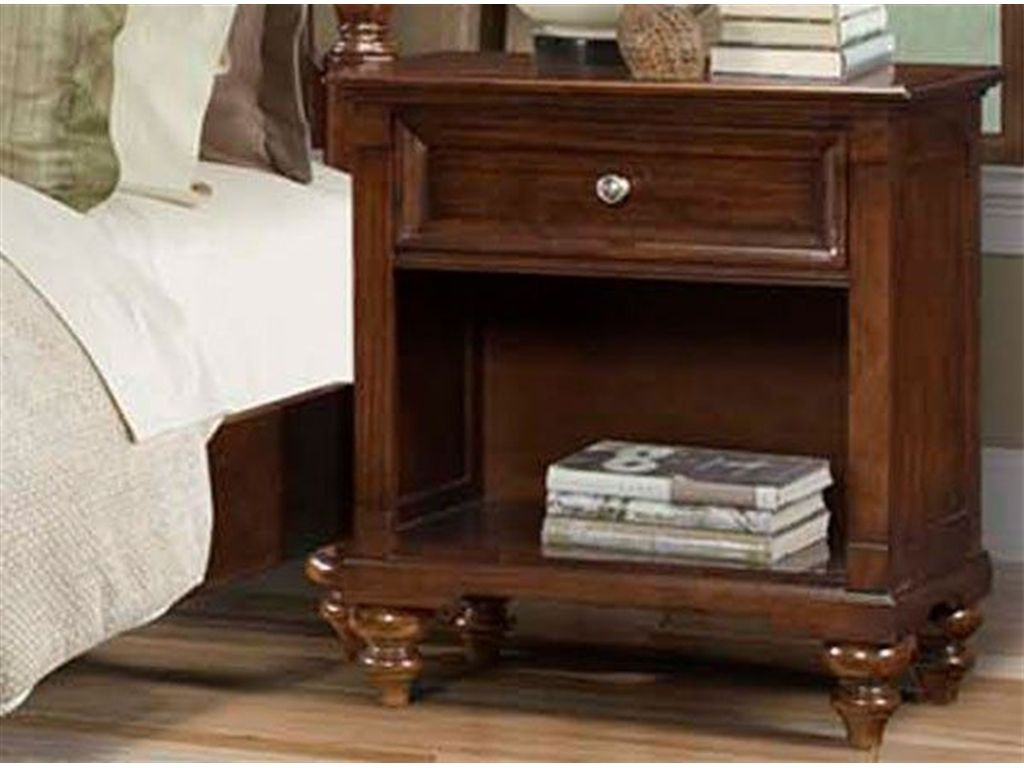 A America Bedroom Reedsport Drawer Nightstand   Tyndall Furniture  Galleries, INC   Charlotte, North Carolina
