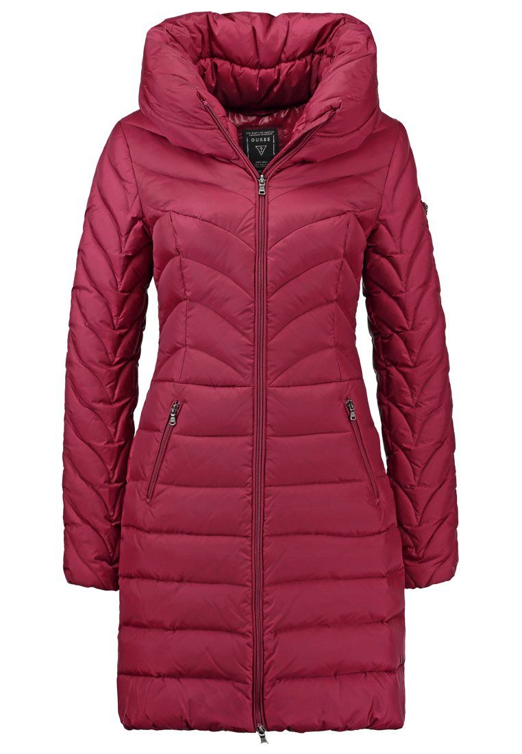 Guess Terri Down Coat Bet On Pink Zalando Co Uk Winter Coats Women Down Coat Winter Jackets Women [ 1100 x 762 Pixel ]