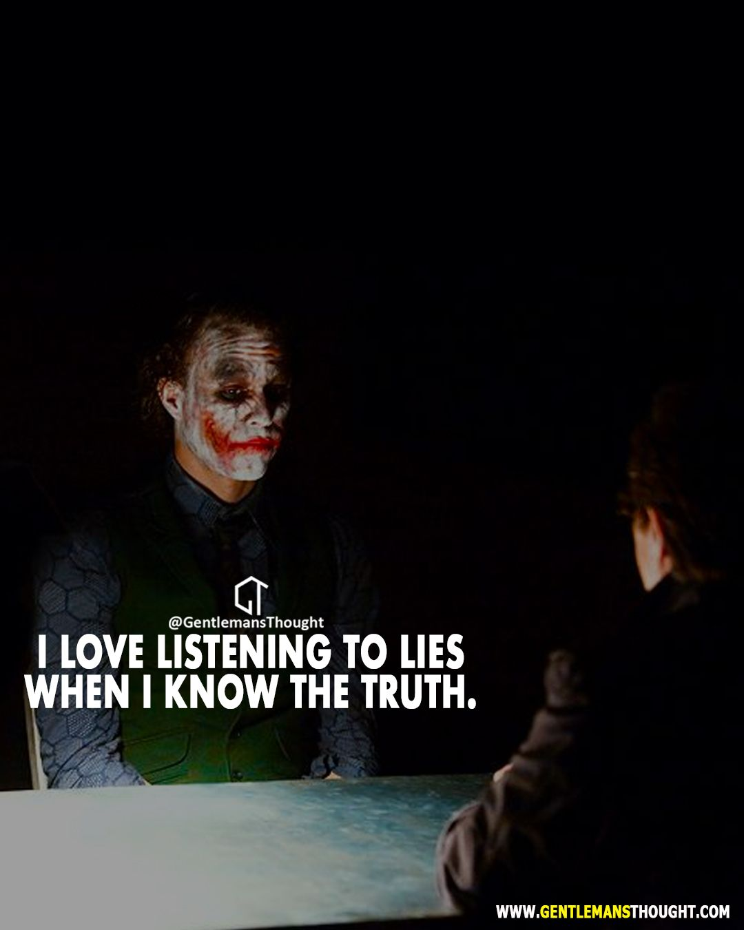 then watching their world crumble 🤣 joker quotes
