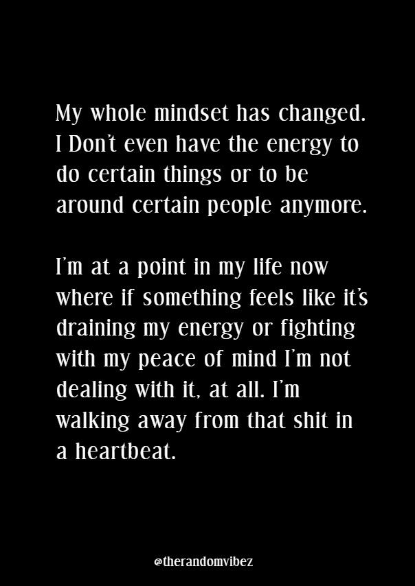Quotes About Changed Mindset