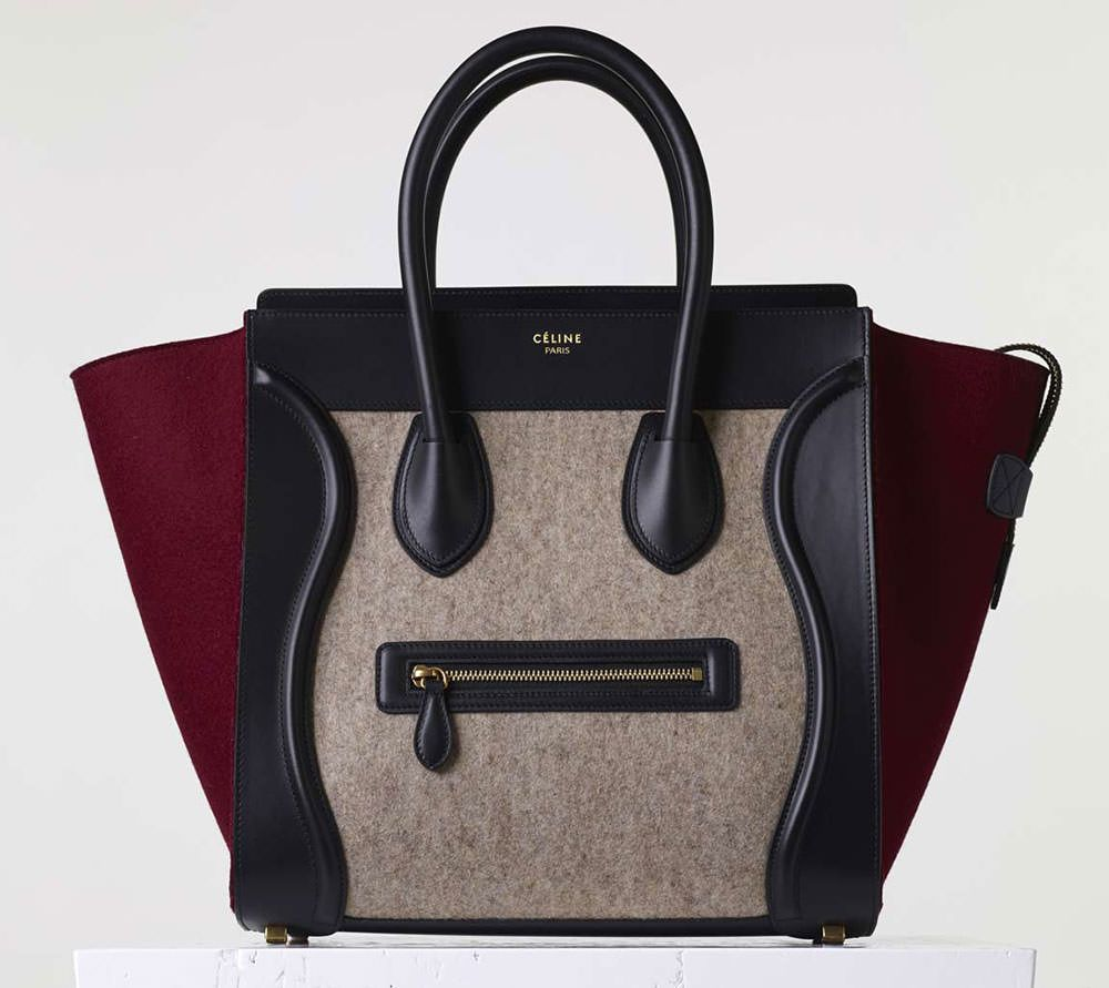54e786de57 Celine-Mini-Luggage-Tote-Tricolor ~ Fall 2015