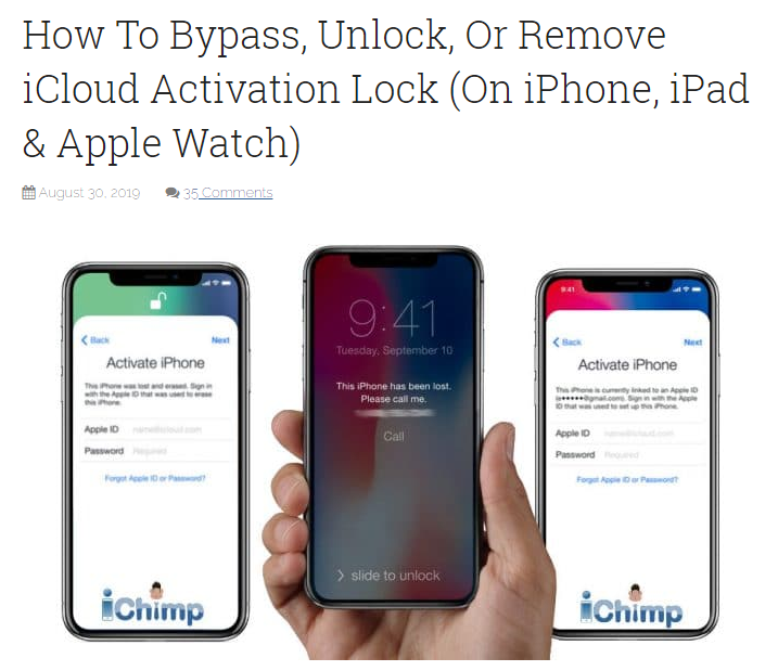 How To Bypass Or Remove iCloud Activation Lock [Solved