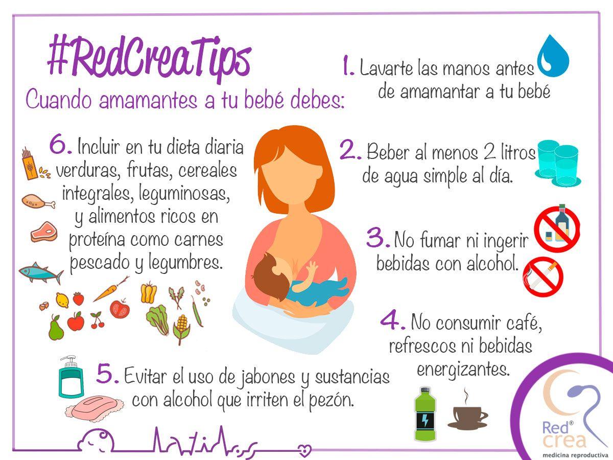 tomar refresco durante la lactancia