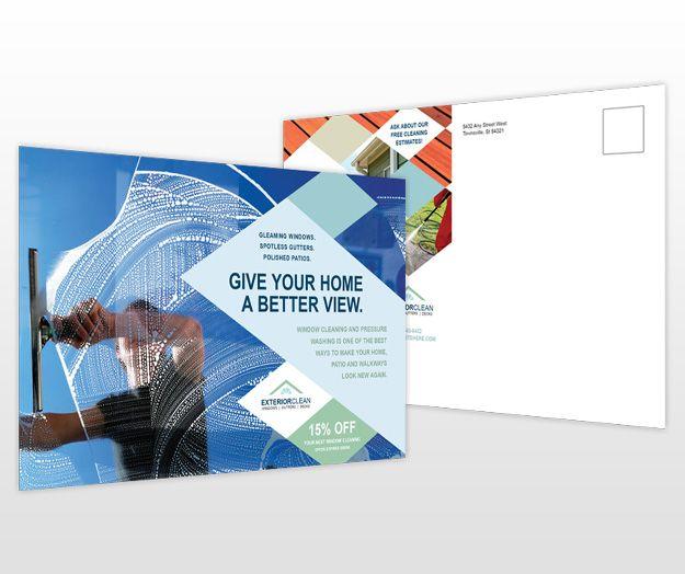 Postcard Flyer Template Design Inspiration Layout Pinterest