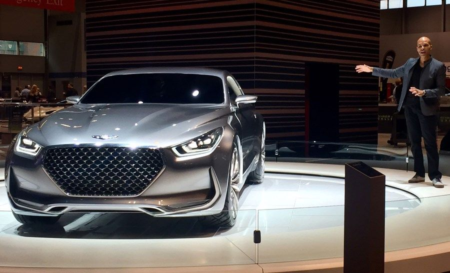 The New 2017 Genesis Vision G Hits Floors Of Chicago Auto Show