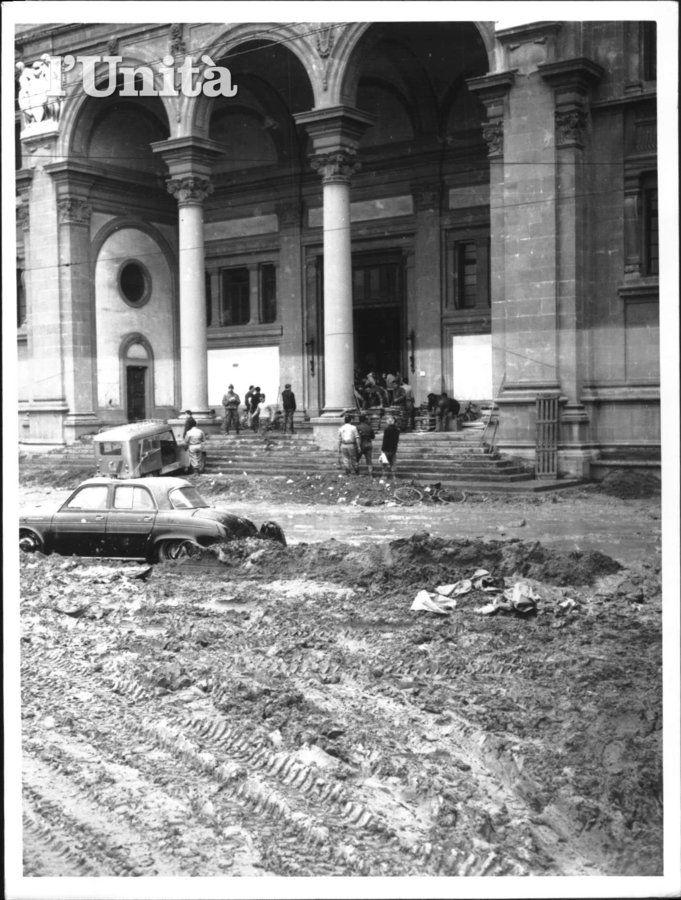 FIUME ARNO ALLUVIONE 04/11/1966 7