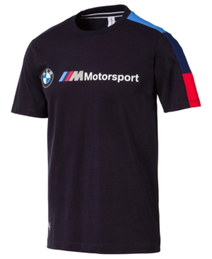 313327e30885 Puma Men s Bmw Logo T-Shirt - Blue S