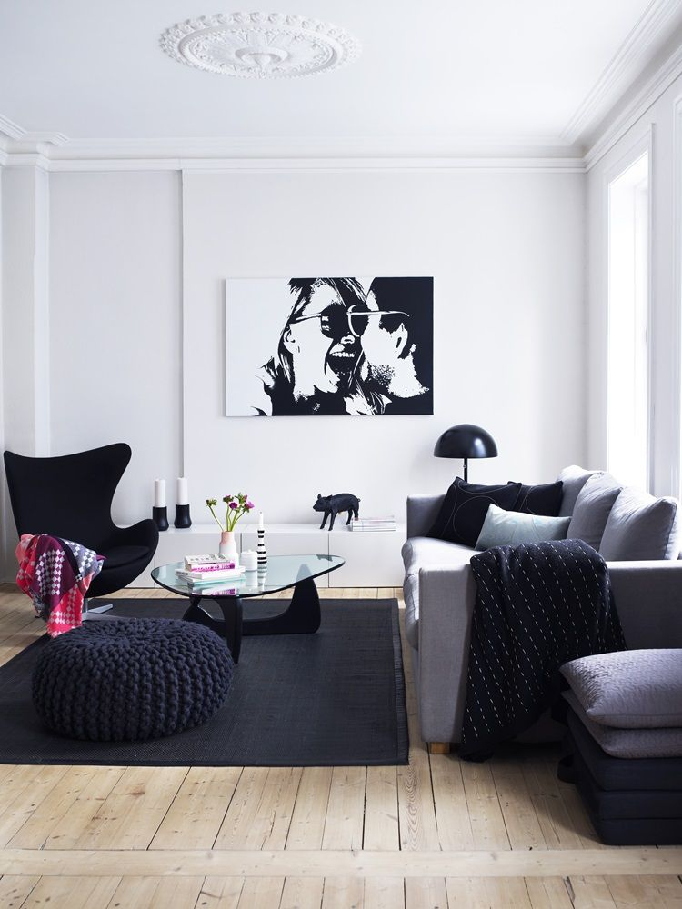 A balanced mix in Oslo deco maison Pinterest Melange, Décor