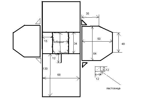 Вязание построить выкройку для реглана