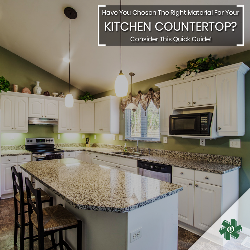 Give Your Kitchen A New Look By Choosing The Right Countertop We