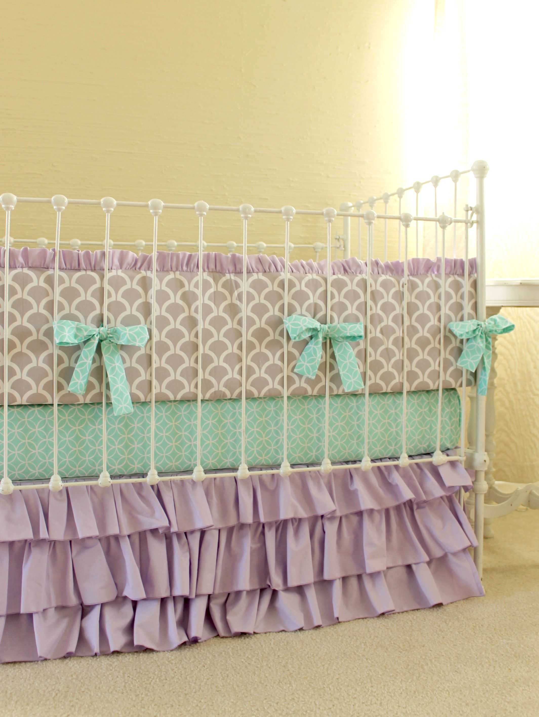 coral teal floral cribs and baby large designs carousel bedding solid crib navy sets blankets