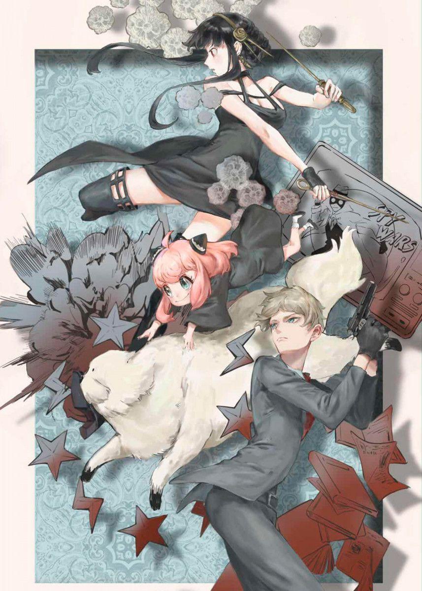 Spy X Family Personagens De Anime Anime Desenhos