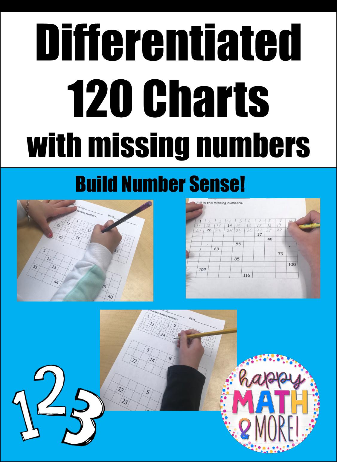 120 Chart Number Math Center Homework Or Classwork