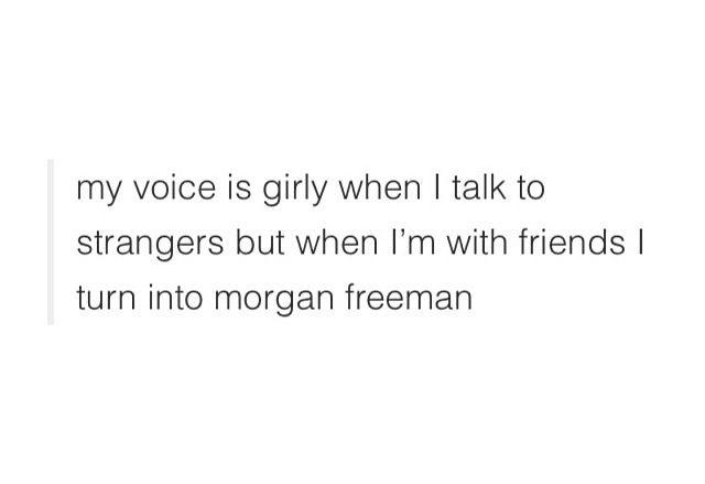 i sound like morgan freeman funny pinterest morgan freeman