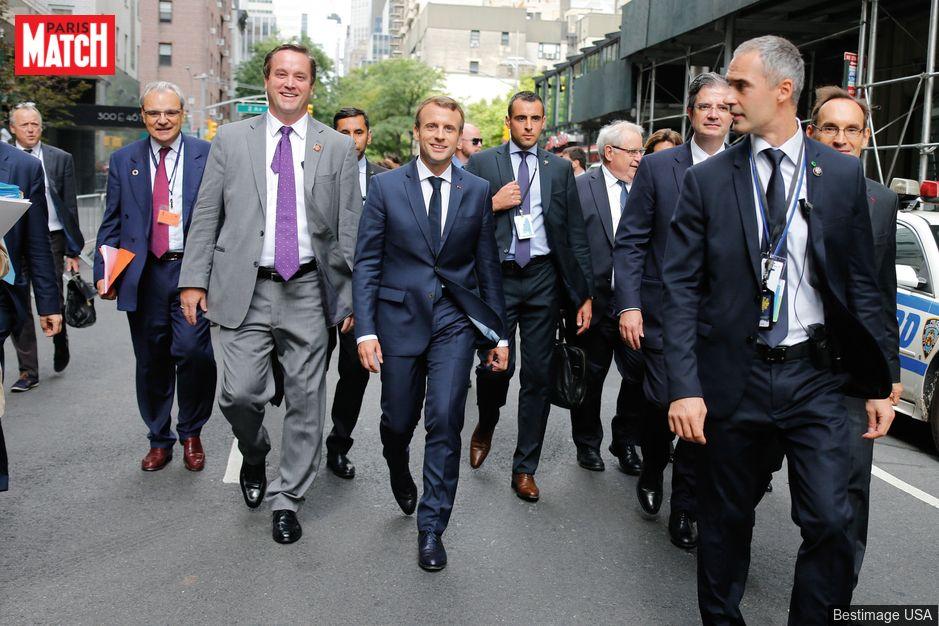 Assemblée générale de l'ONU Avec Emmanuel Macron à New