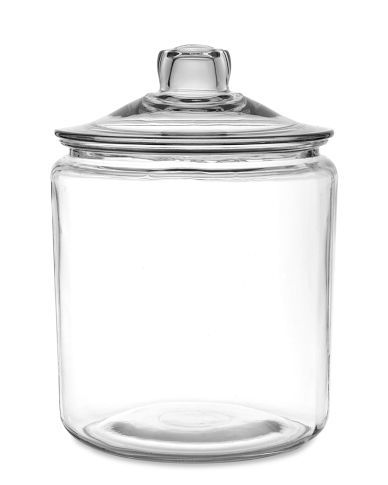 Biscotti jar (1 gal) Made in US $20--oh I can think of loads of things to store in this..what a great gift, too! Even empty!