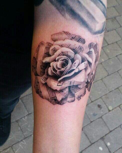 db47b294e 110+ Awesome Forearm Tattoos | Ink. | Forearm tattoo design, Music ...