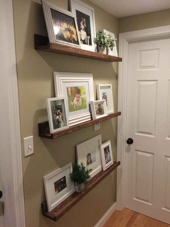 Picture Ledge Photo Ledge Picture Shelf Picture Shelves Floating Shelves Wood Le…,  #Floati…