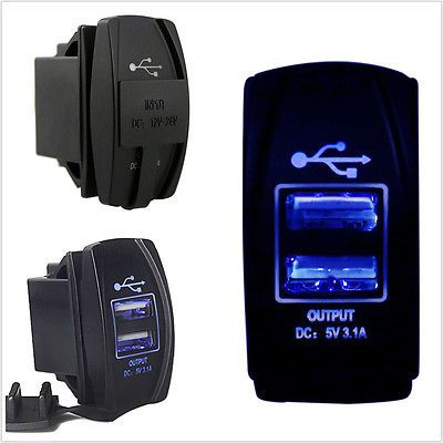 Universal twin dual double port 2 usb 12v in car socket #lighter #charger #adapte,  View more on the LINK: http://www.zeppy.io/product/gb/2/122047182612/