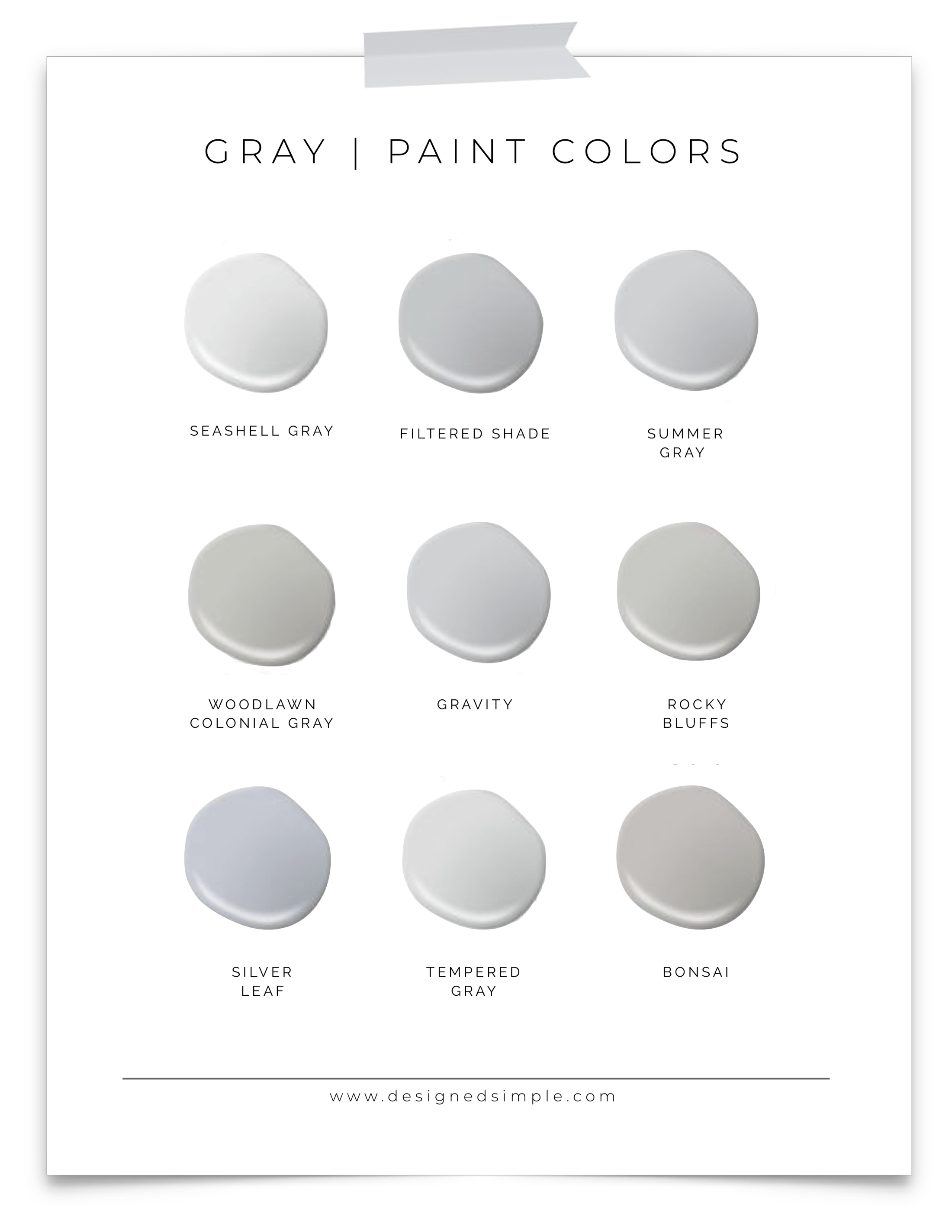 Valspar Gray Paint Colors Favorite Grays In Our Home Designed Simple Designedsimple Com Valspar Paint Colors Gray Office Paint Colors Lowes Paint Colors