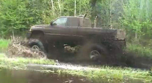 jacked up trucks in the mud ram truck dodge truck stacks mudding mud dodge dodge - Dodge Ram 1500 Lifted Mudding