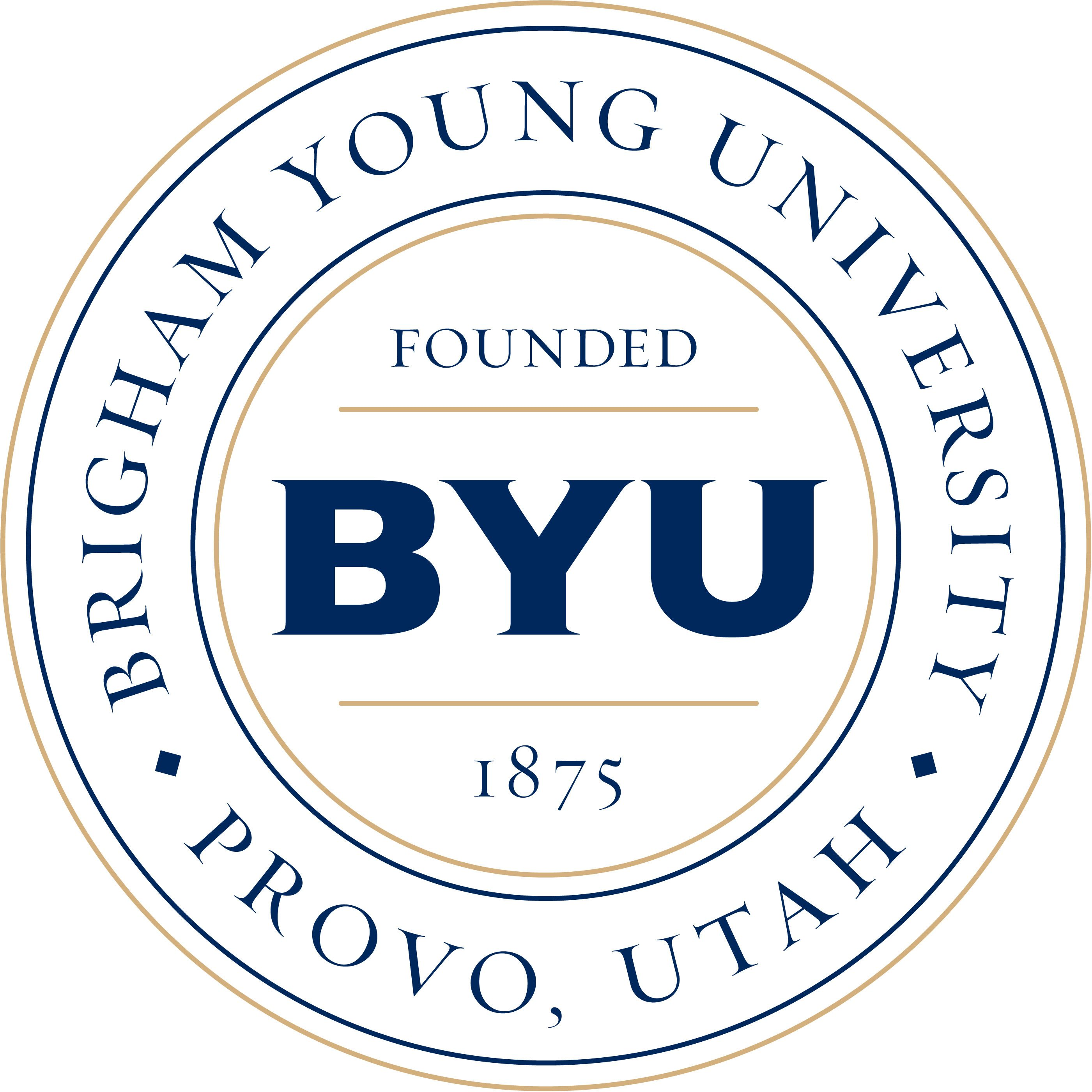 Byu Logo Wallpaperkick Com Brigham Young University Brigham Young College Tour