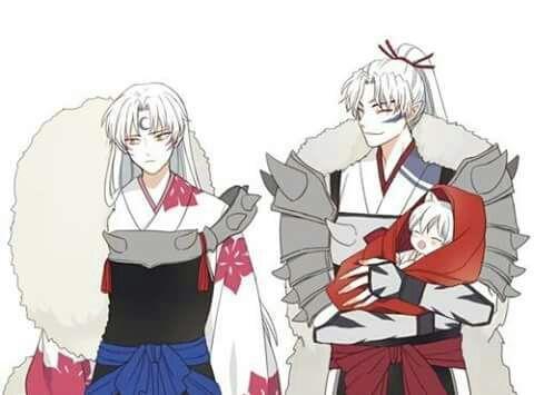 Sons of the Great Dog Demon Inu No Taisho, Sesshomaru and