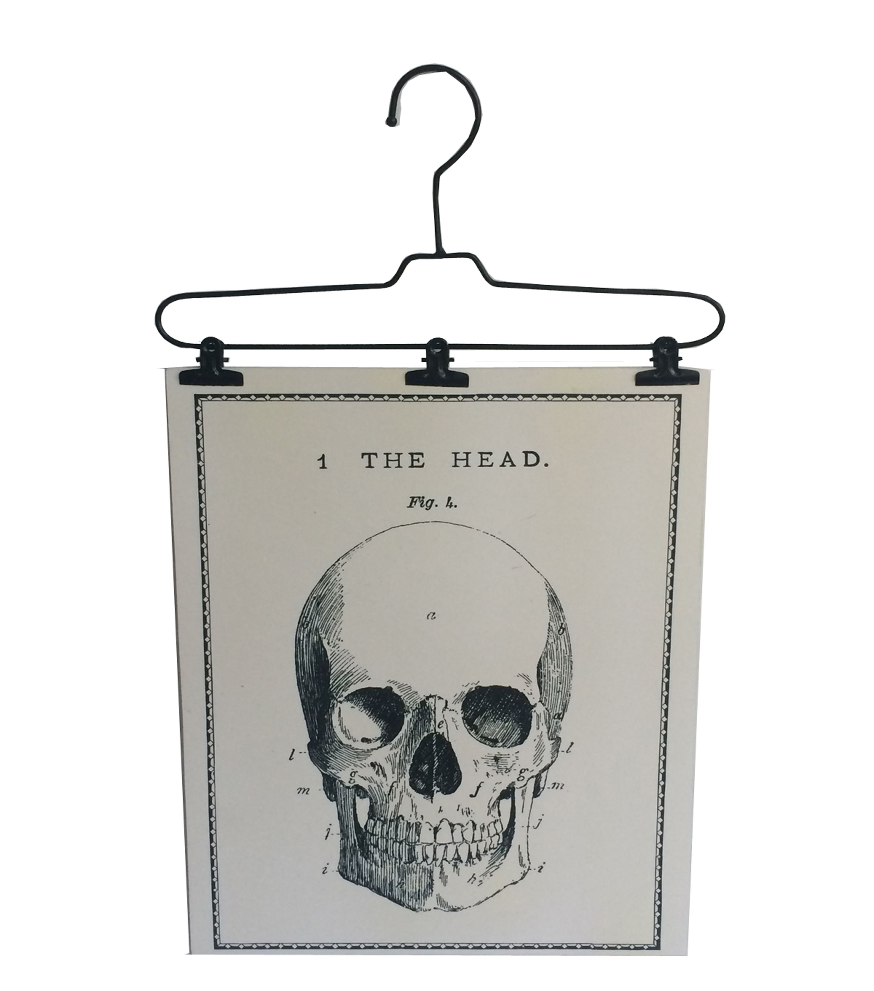Maker\'s Halloween Wire Hanger Wall Decor - Skull - Home Decor ...