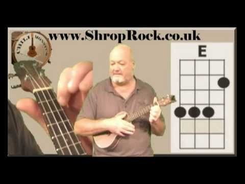 How To Play Really Easy Ukulele 2 Major Chords By Chili Monster