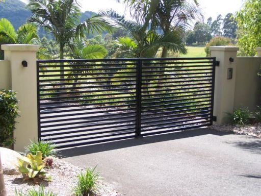 Horizontal Metal Fence Design Www Pixshark Com Images
