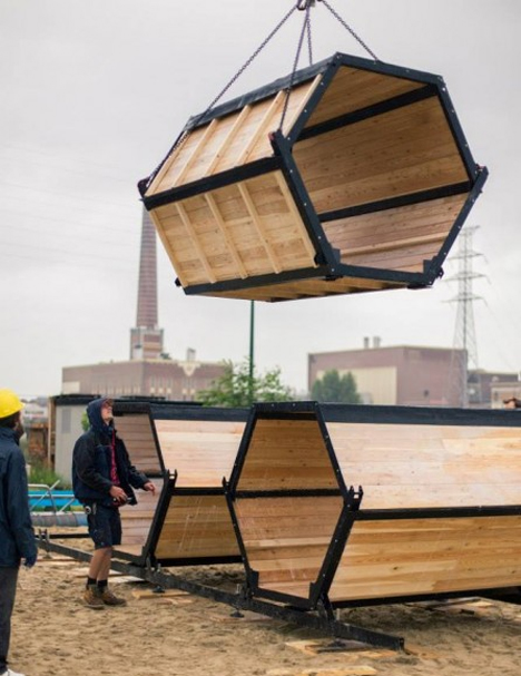 B-And-Bee Modular Honeycomb Pods