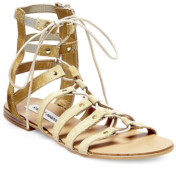 d6eeb2cde35 Steve Madden Women s Sparra Sandals (445 CNY) ❤ liked on Polyvore featuring  shoes