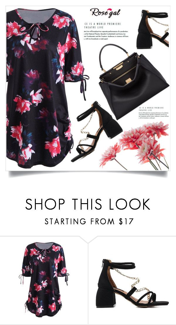 """Rosegal 58/60"" by amra-mak ❤ liked on Polyvore featuring Fendi and rosegal"