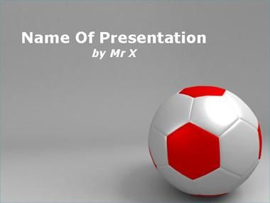 Soccer Ball Powerpoint Presentation Template  Football Powerpoint