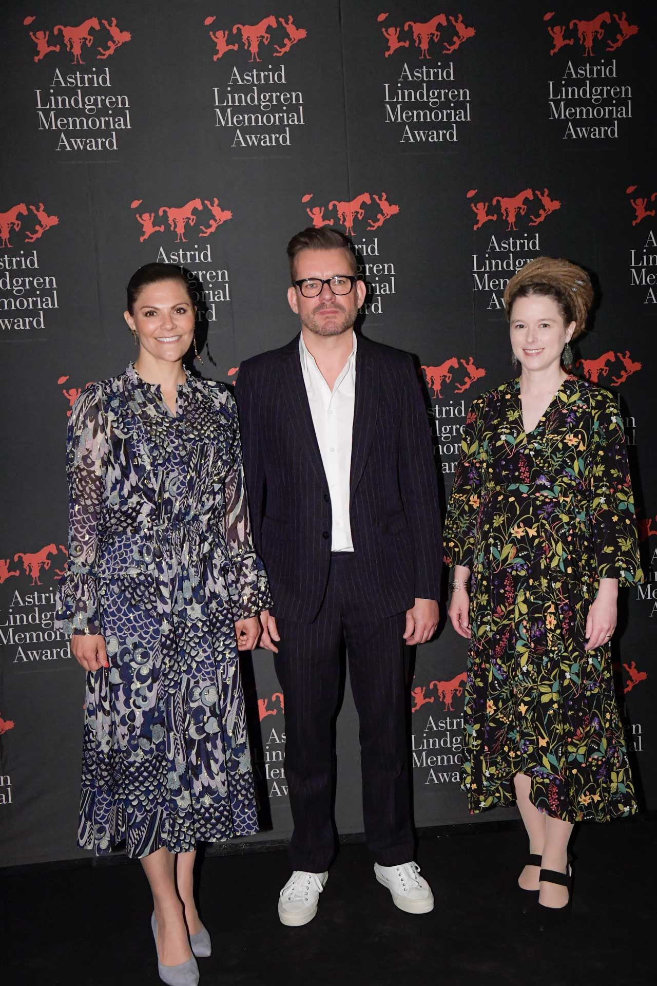 Amanda Lind crown princess victoria attends awards ceremony | crown