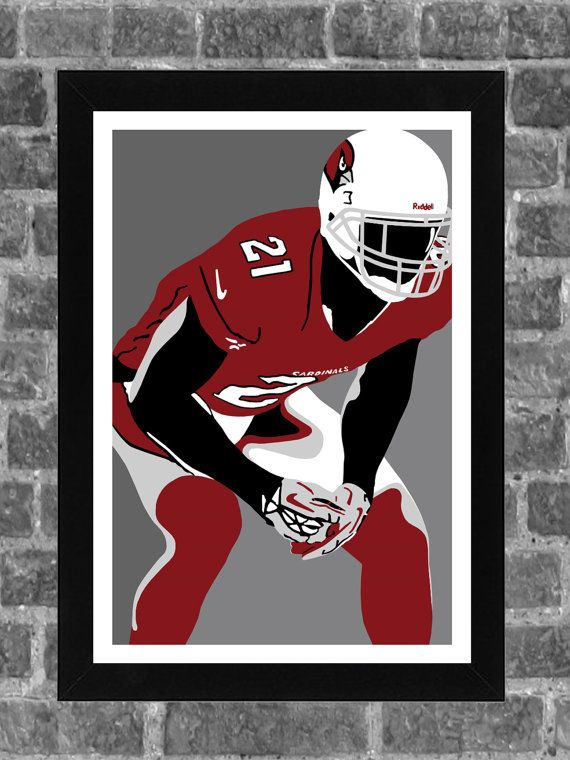 24164a3842ca Arizona Cardinals Patrick Peterson Sports Print Art by FanFourLife ...